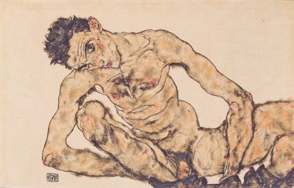 ZP_Egon Schiele_Aktselbstbildnis_1916