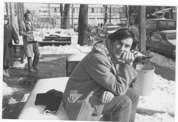 Archie MacDonald, 1960-1993, pictured here on Baldwin Street in Toronto_early 1980