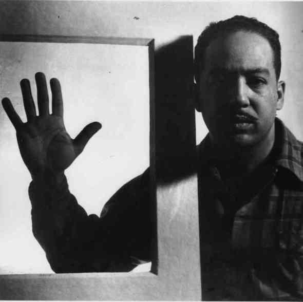 ZP_Langston Hughes in 1941_portrait photograph by Gordon Parks