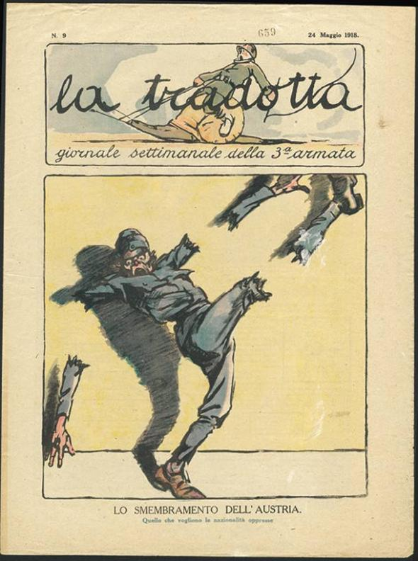 ZP_La Tradotta_a May 1918 edition of the weekly newspaper of the Italian 3rd Army