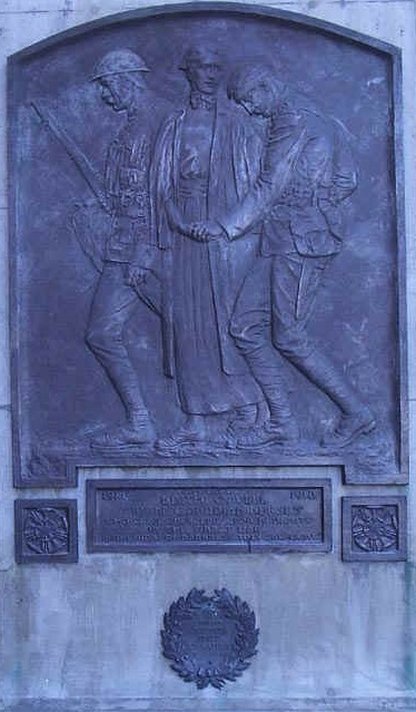 ZP_Toronto sculptor Florence Wyle's memorial to Nurse Edith Cavell 1865 to 1915