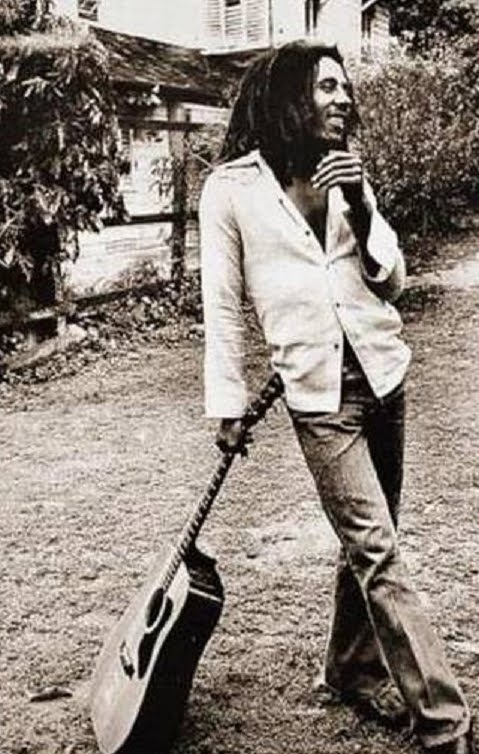 Bob Marley in the 1970s