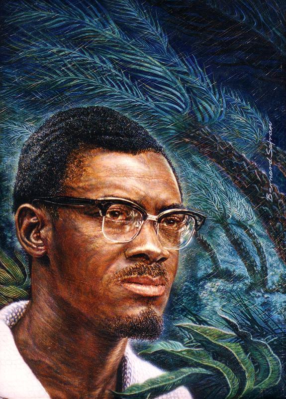 ZP_Portrait of Patrice Lumumba by Bernard Safran