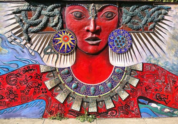 ZP_Itzpapalotl_Goddess mural in San Francisco_near 16th and Sanchez streets