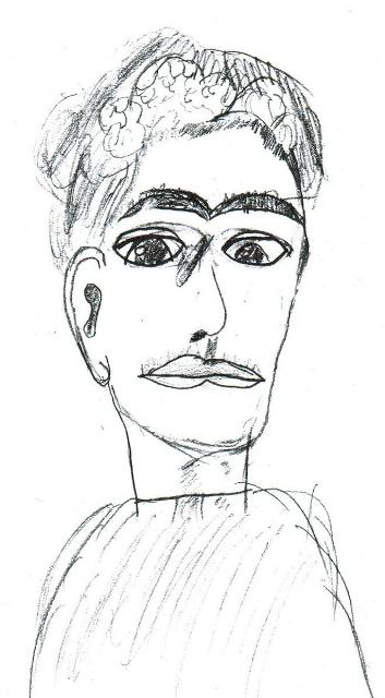 3.Frida Kahlo portrait by a Toronto teenager