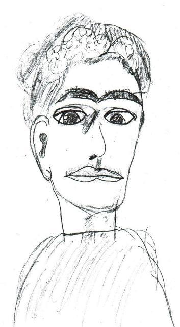 3.Frida Kahlo portrait by a Toronto teenager
