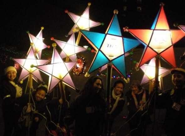 ZP_December 2012_At the Parol Lantern Festival in San Francisco, California