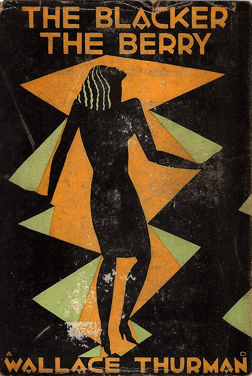 ZP_Aaron Douglas' 1929 dustjacket illustration for The Blacker the Berry - A Novel of Negro Life, by Wallace Thurman 1902-1934