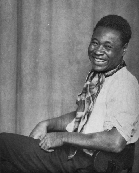 ZP_Claude McKay, 1889-1948, Jamaican-born author of the frank and intense 1928 novel, Home to Harlem