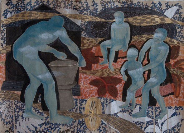 Men and Joy of Cooking, 2010 © Dinh Thi Tham Poong, born 1970