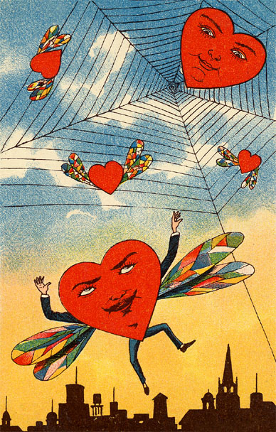 ZP_A vintage Valentine's Day card