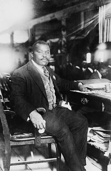 ZP_Marcus Garvey, 1887 - 1940_Jamaican orator, Black Nationalist and promoter of Pan-Africanism in the Diaspora