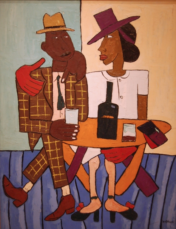 ZP_painting by William Henry Johnson, 1901 - 1970_Café_1940