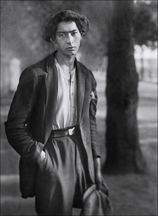 August Sander photographer_Gypsy_circa 1930