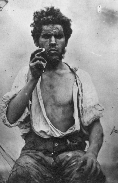 ZP_Irish labourer_a photograph from around 1850