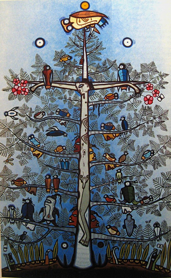 ZP_Tree of Life by Manitoulin Island artist Blake Debassige