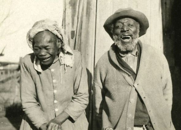 Oklahoma sharecroppers couple_1914