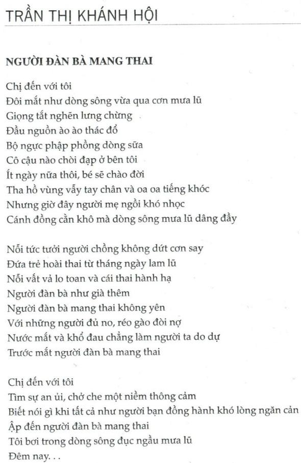 Tranh Thi Khanh Hoi_The pregnant woman