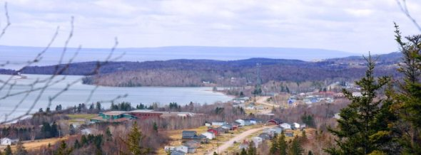 ZP_Panoramic view of part of Eskasoni First Nation_2012