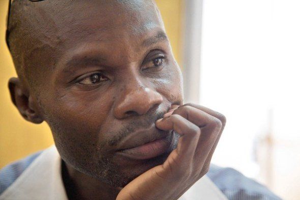 ZP_Teacher and LGBT activist David Kato (1964 - 2011), the first publicly gay man in Uganda