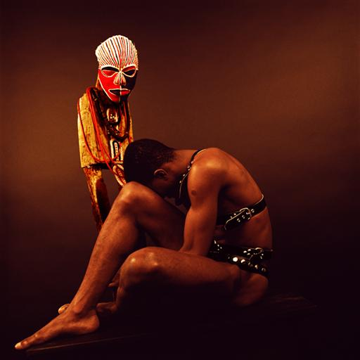 ZP_Rotimi Fani-Kayode_Nothing to Lose IX (Bodies of Experience)_1989
