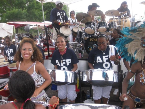 ZP_Afropan Steel Orchestra at the Pan Alive competition in Toronto, Canada