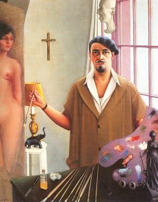 ZP_Archibald John Motley 1891-1981_Self Portrait_1933