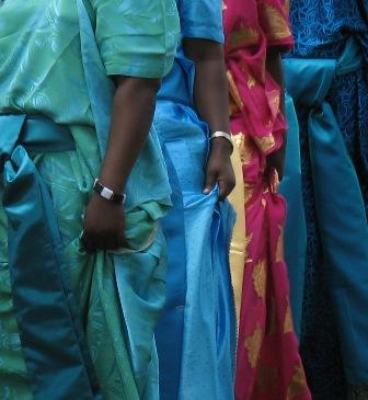 ZP_Ugandan women wearing busuutis