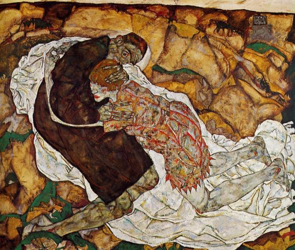 ZP_Egon Schiele_Death and the Maiden_1915