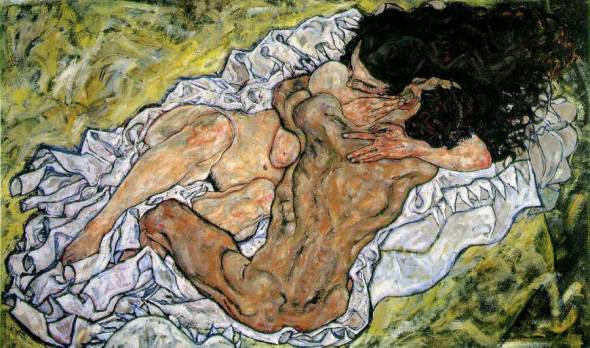 ZP_Egon Schiele_Embrace_Lovers II_1917