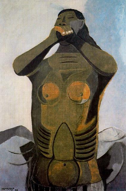 ZP_Rufino Tamayo_Mujer llamando / Woman calling_1941
