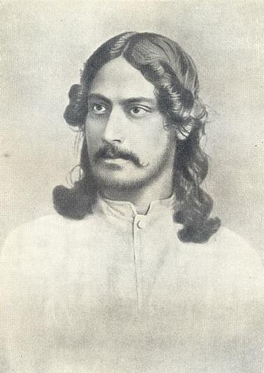 Rabindranath Tagore in 1886