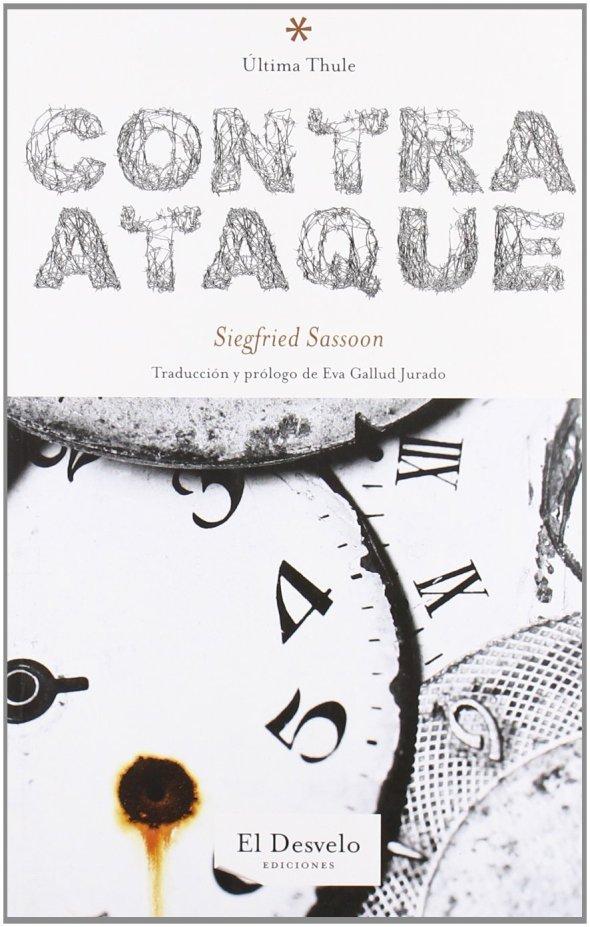 ZP_Book cover for Eva Gallud Jurado's Spanish translations of War poems by Siegfried Sassoon_Ediciones El Desvelo 2011