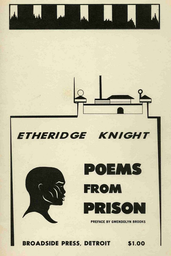 Book cover_ Poems from Prison by Etheridge Knight_1968