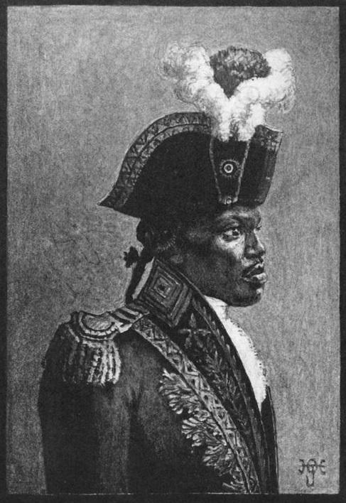 Engraving of Toussaint L'Ouverture