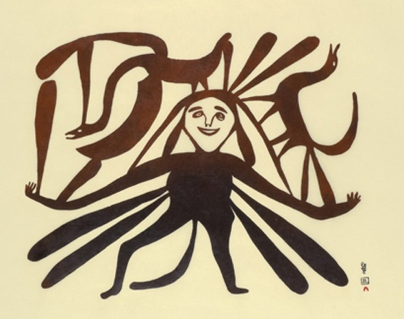 Kenojuak_Mother Earth_1961