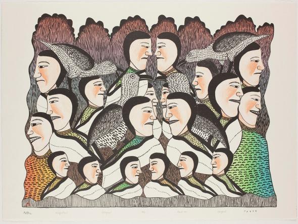 Kenojuak_Katajaktuiit_Throat Singers Gathering_1991