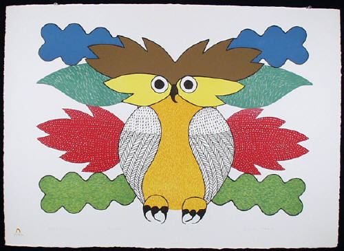 Kenojuak_Spirit of the Owl_lithograph_1980