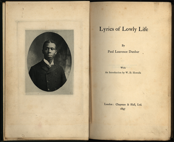 Lyrics of Lowly Life_1897_This volume included Paul Laurence Dunbar's Oak and Ivy and Majors and Minors both under one cover.