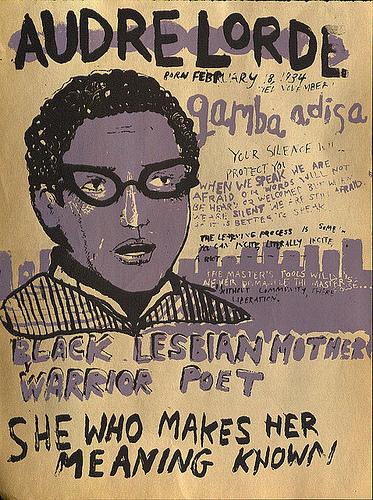 ZP_Audrey Lorde poster copyright artist Beeswax Goatskull
