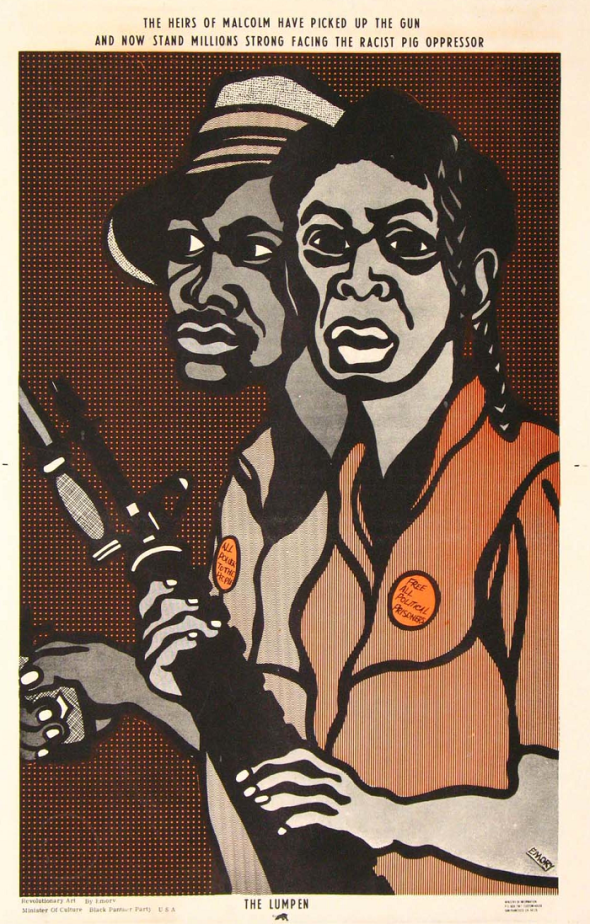 Emory Douglas poster for The Black Panthers