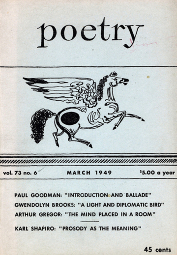 ZP_Poetry Magazine_March 1949 issue