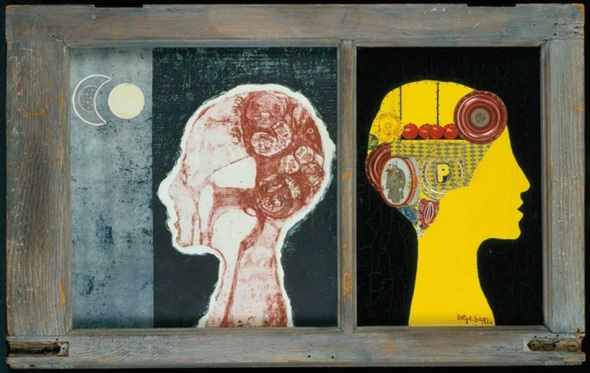 Betye Saar_The Phrenologers Window_1966