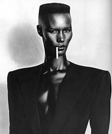 Grace Jones_1981 Nightclubbing album cover photograph