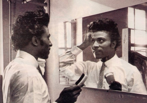 Little Richard at The Apollo Theatre in 1956