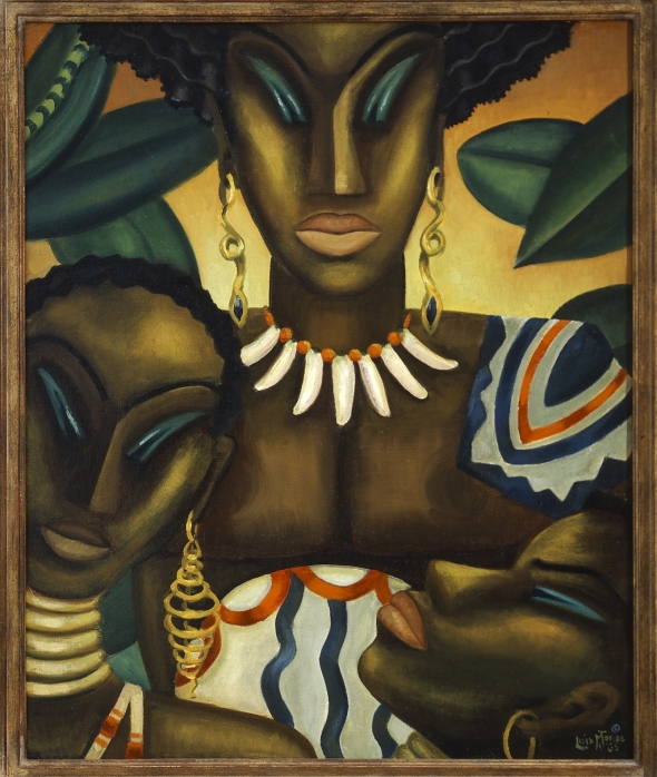 Lois Mailou Jones_Africa_Oil on canvas_1935