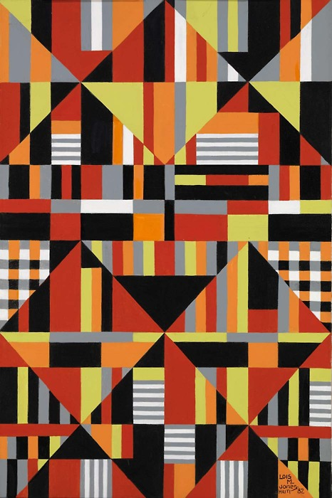 Lois Mailou Jones_Pattern_1982