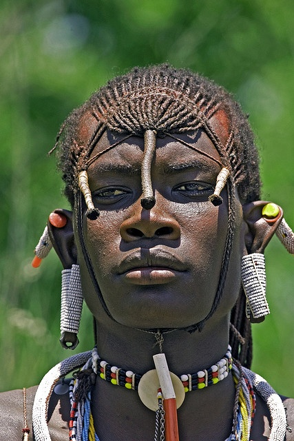 Maasai hairstyle for men