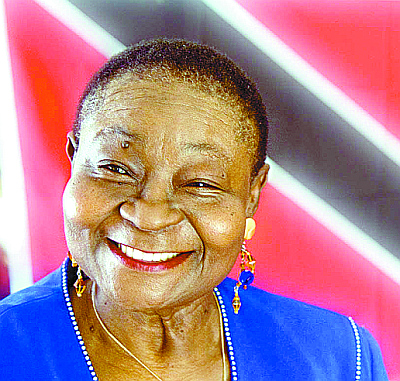 McCartha Linda Sandy-Lewis, better known as Calypso Rose_The greatest of the female Calypsonians, and still going strong in her 70s...
