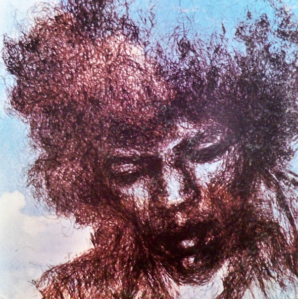 Nancy Reiner_Cover drawing for posthumous Jimi Hendrix album The Cry of Love released in February 1971